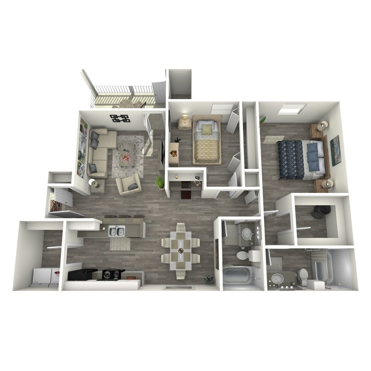Floor plan image of B3R