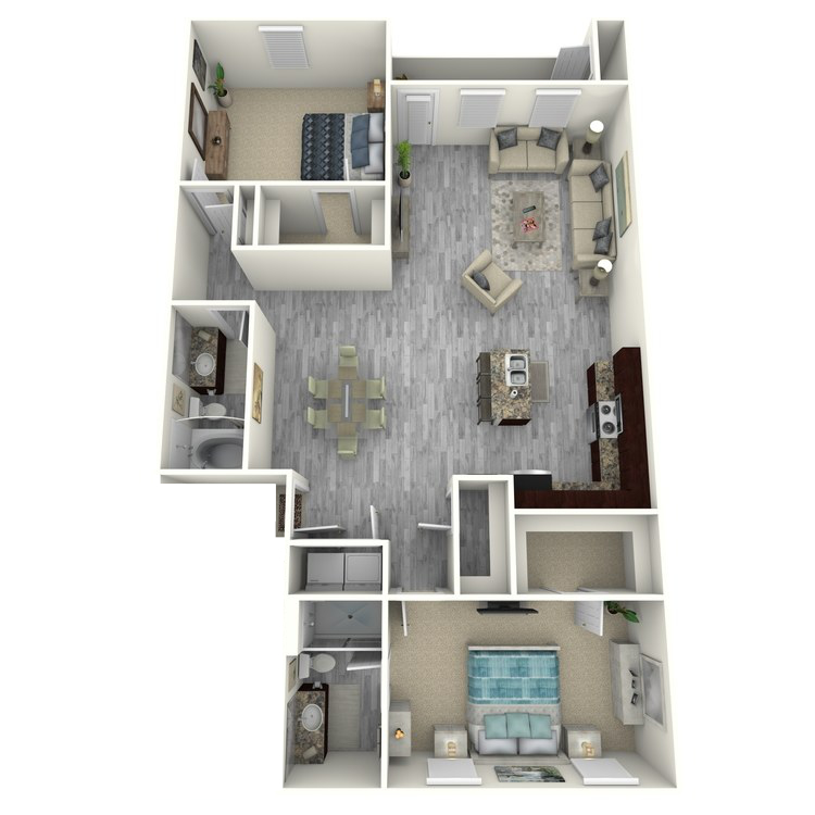 Floor plan image of Azure