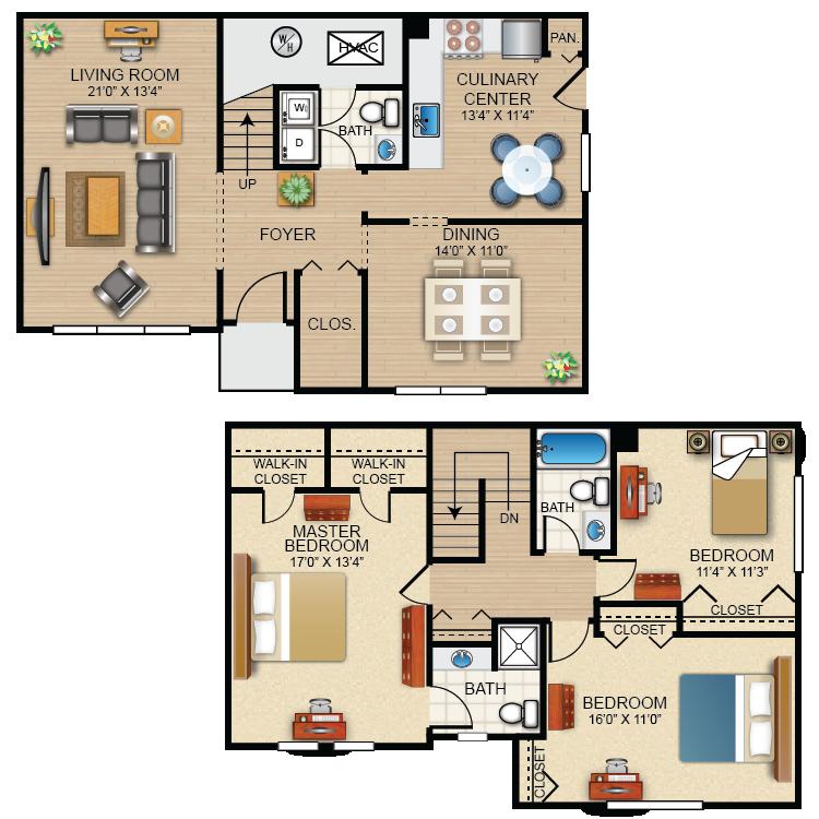 Floor plan image of The Kensington
