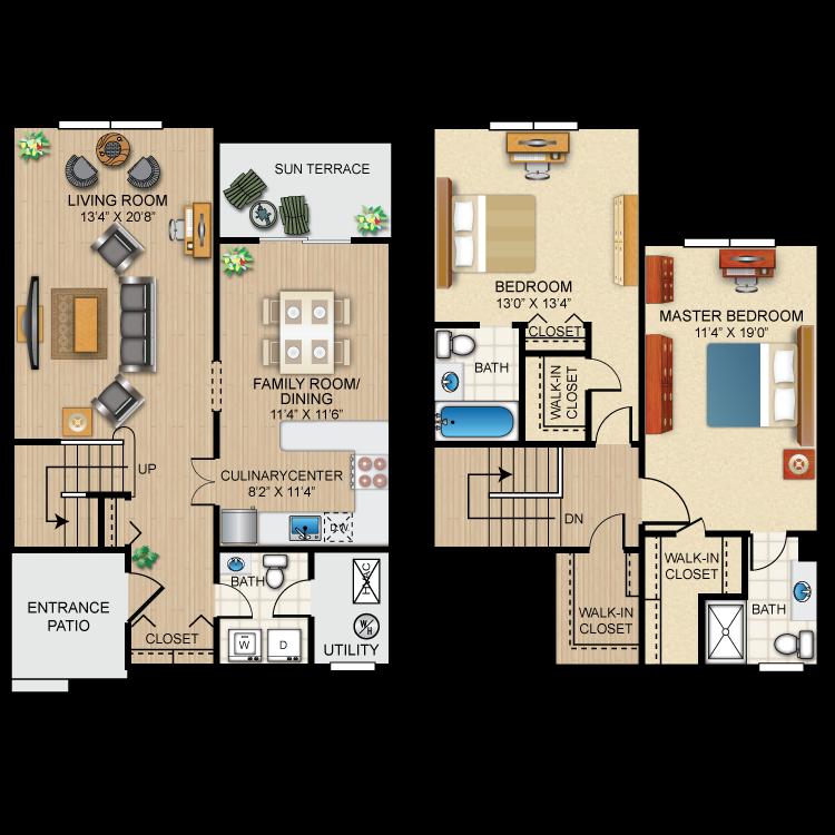 Floor plan image of The Nottingham