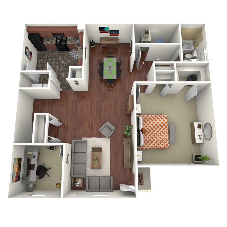 Floor plan image of The Cambridge
