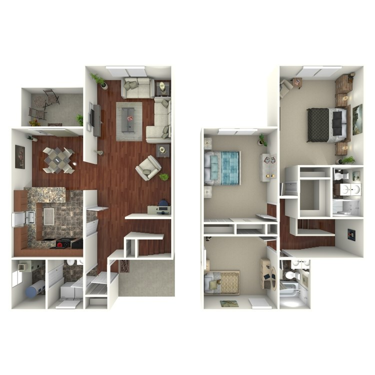 Floor plan image of The Wyndham