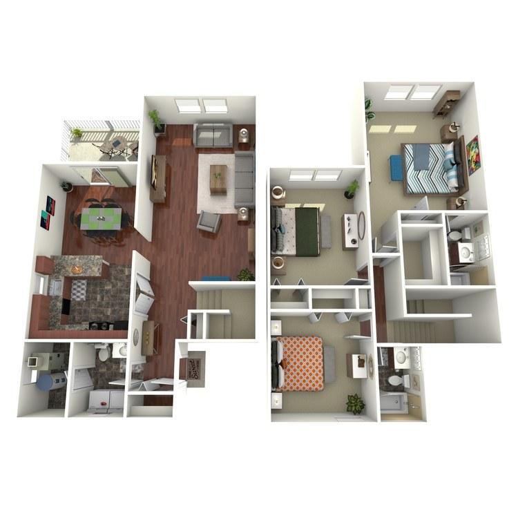 Floor plan image of The Wyndham