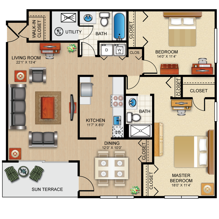 Floor plan image of The Winchester