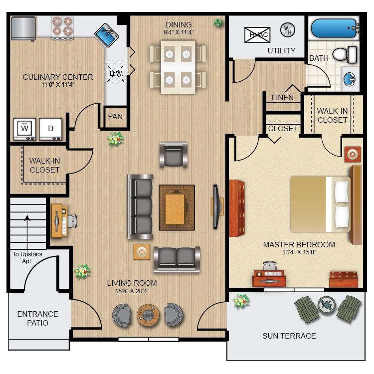 Floor plan image of The Wyncroft