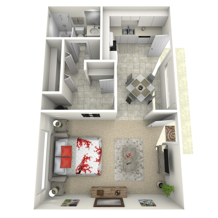 Floor plan image of Studio-Large