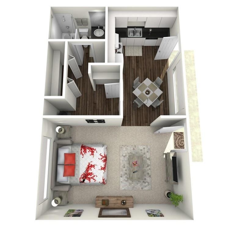 Floor plan image of Studio-Large