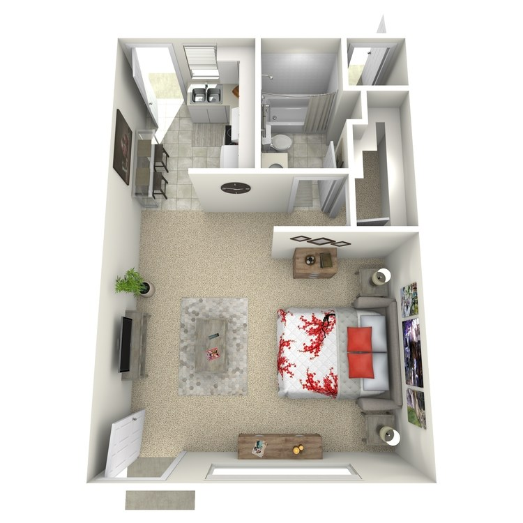 Floor plan image of Studio-Small