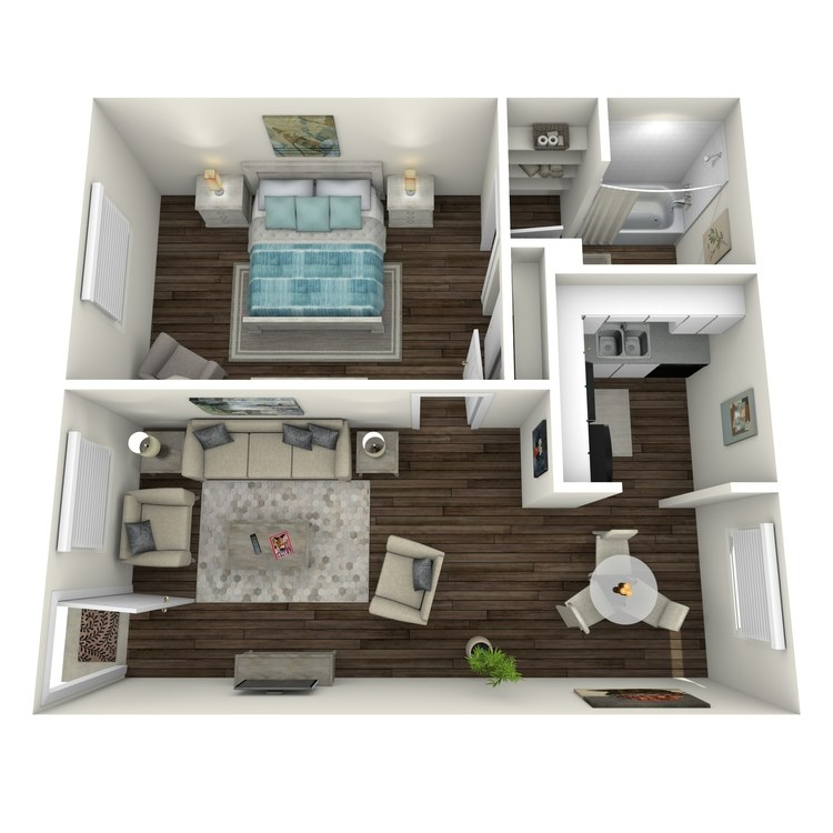 Floor plan image of The Bel-Air