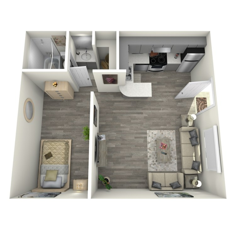 Floor plan image of Lautner