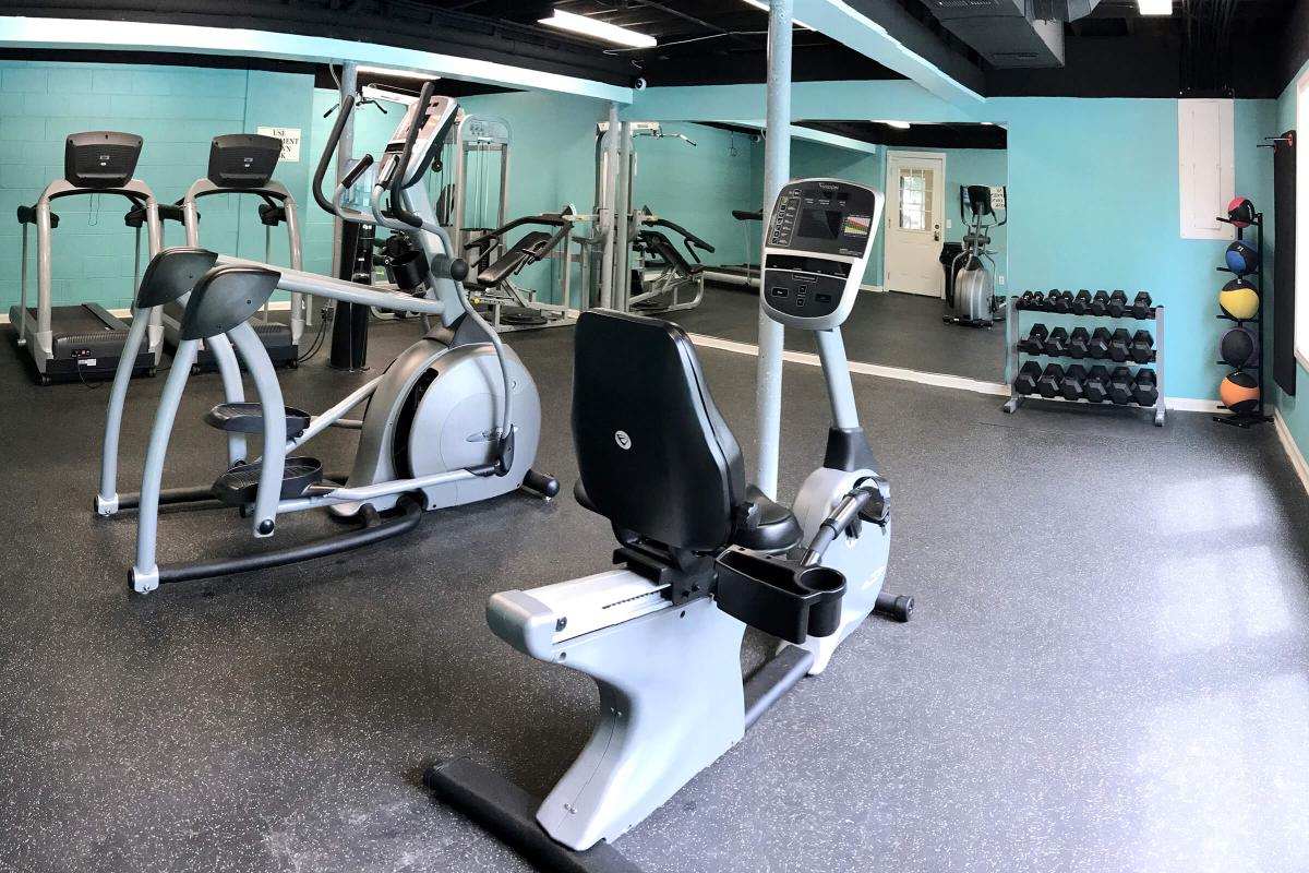Make Time For the Fitness Center Here at Laurel Ridge Apartments in Chattanooga, Tennessee