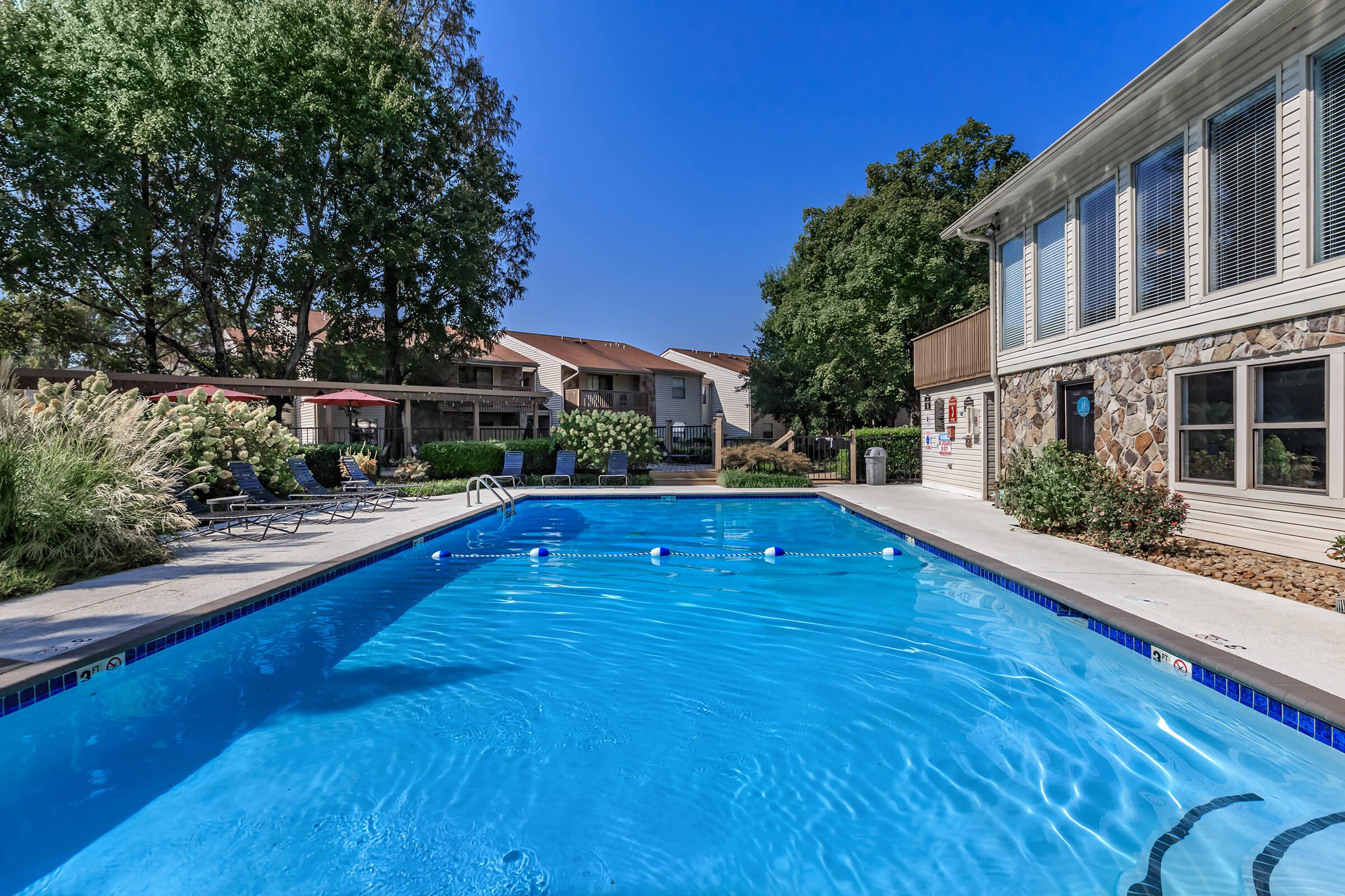 Swim Some Laps Here at Laurel Ridge Apartments in Chattanooga, Tennessee