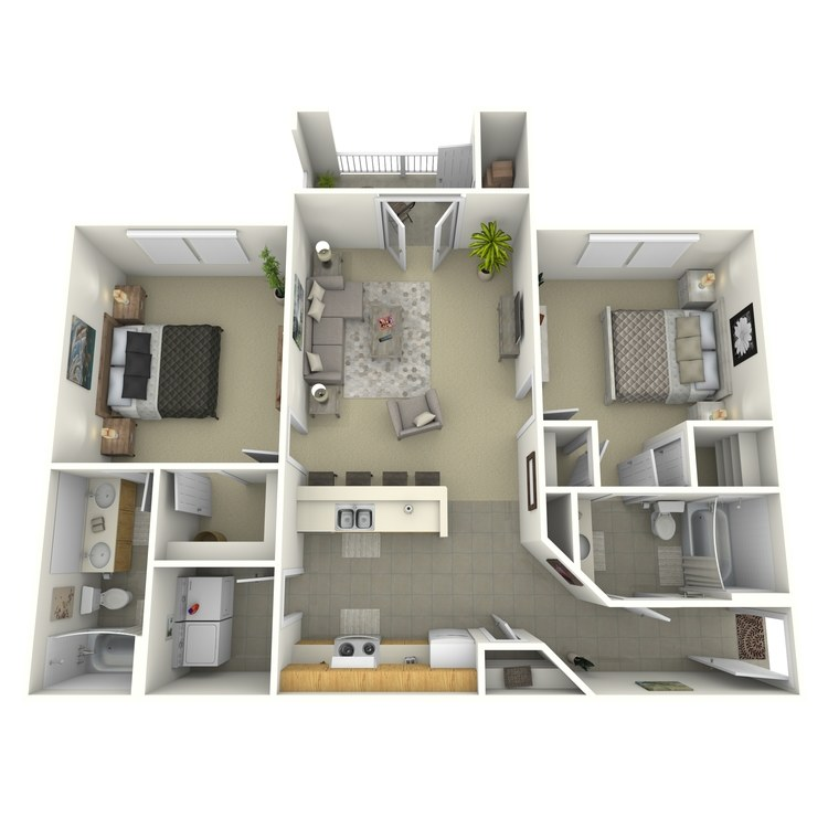 Floor plan image of Bradley