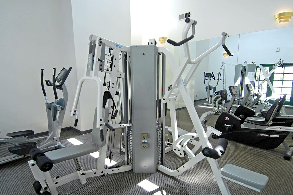 This is the fitness center at Lake Ridge