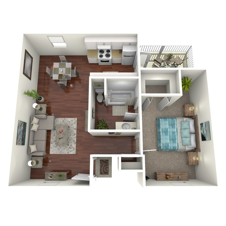 Floor plan image of The Franklin Loft