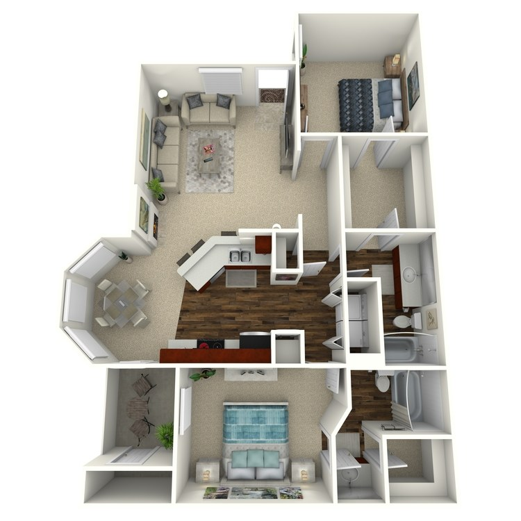 Floor plan image of Ocotillo