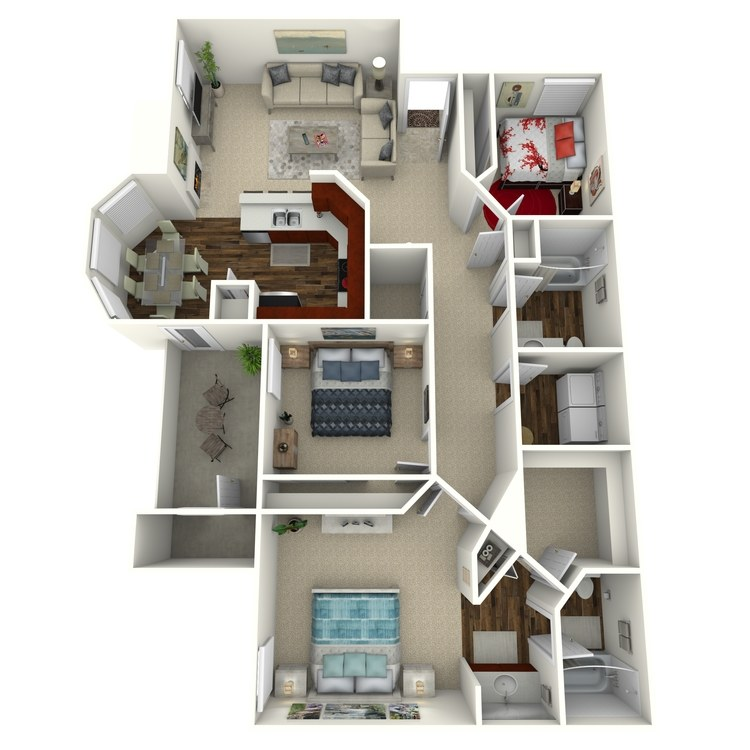 Floor plan image of Verbena