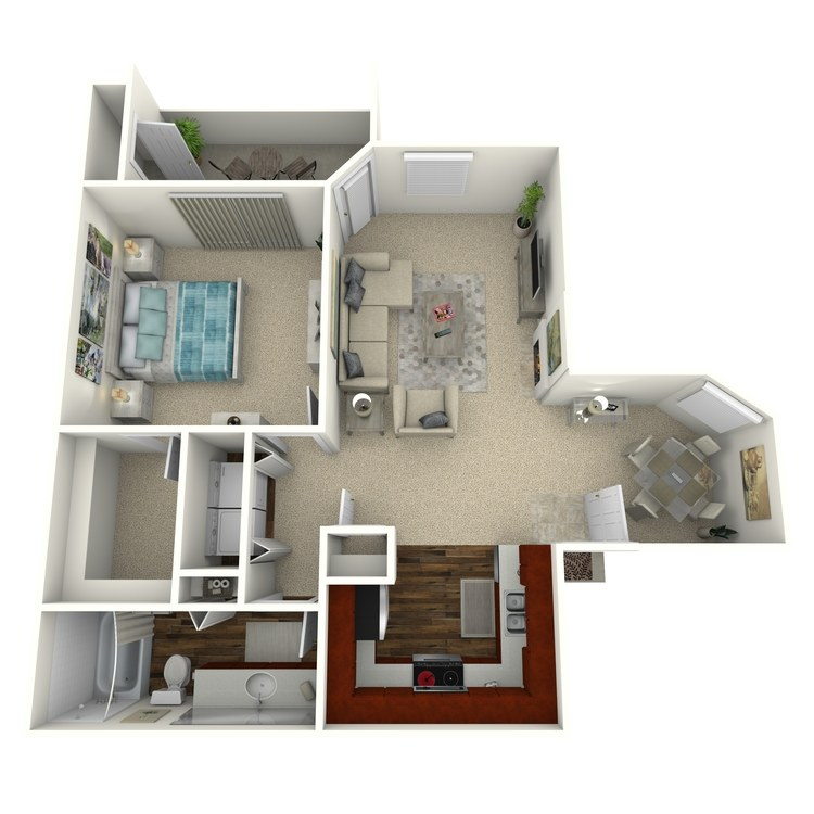 Floor plan image of Cholla