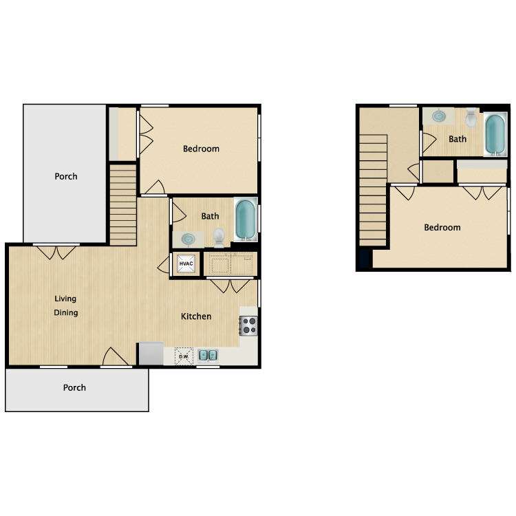 Floor plan image of 2Ba