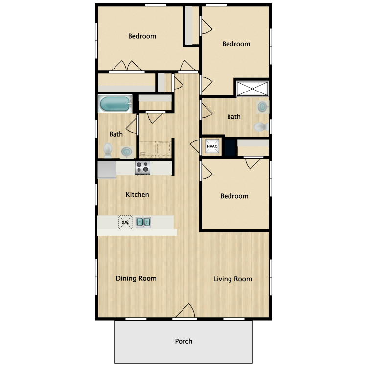 Floor plan image of 3A-ADA