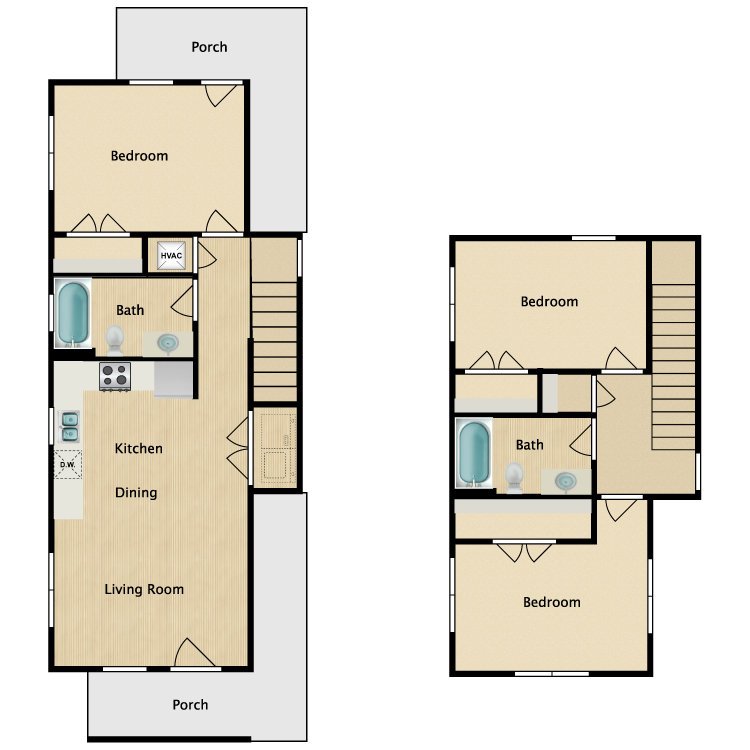 Floor plan image of 3Aa