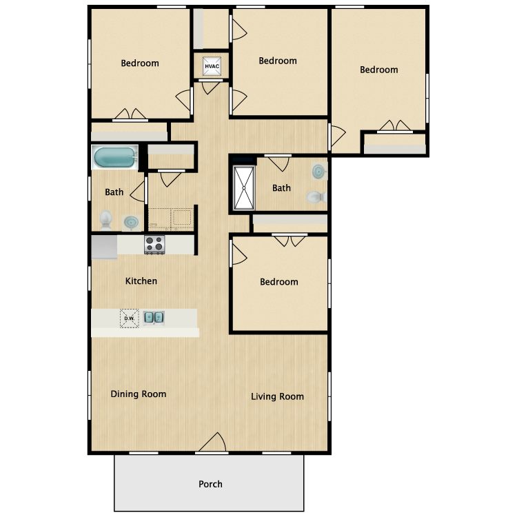 Floor plan image of 4A-ADA