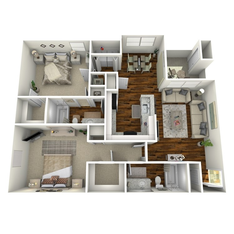 Floor plan image of Cordelia