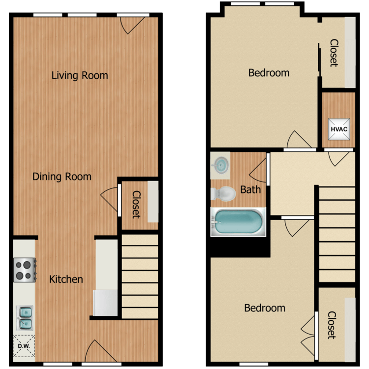 2D floor plan image