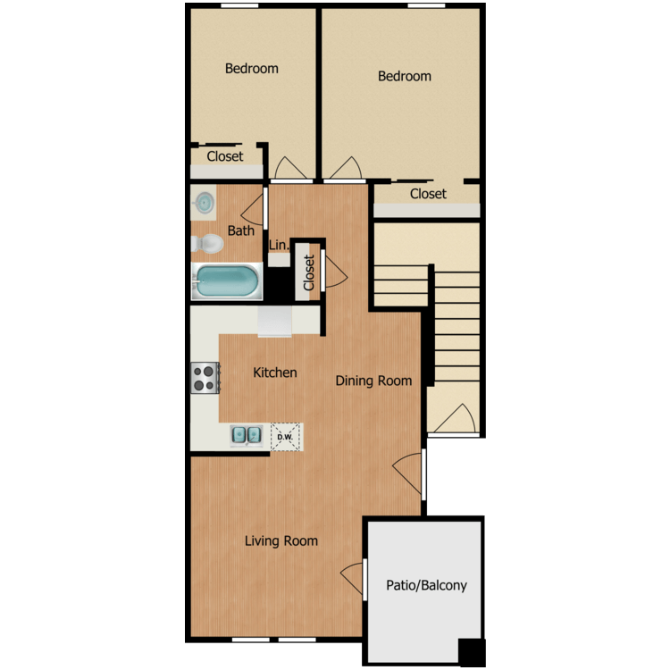 2E floor plan image