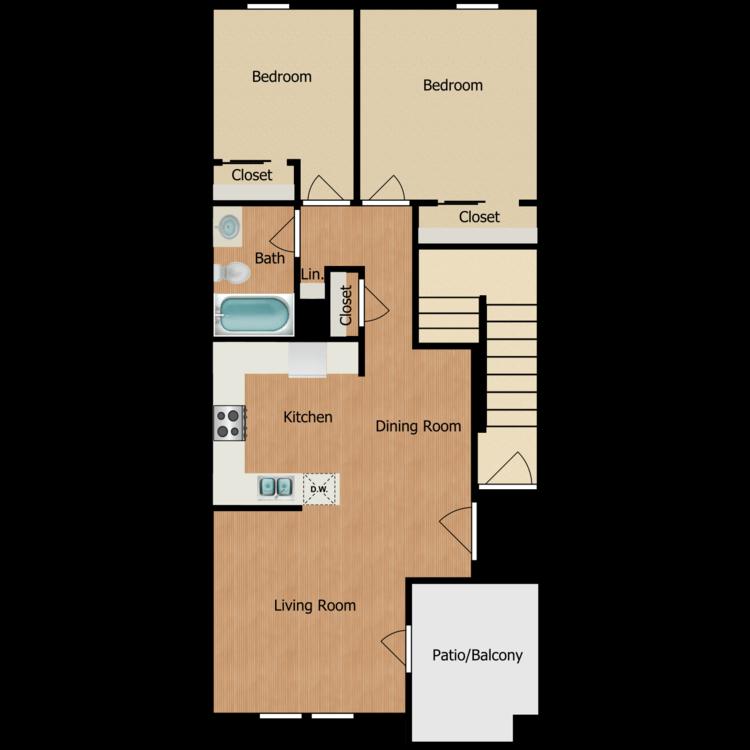 Floor plan image of 2E