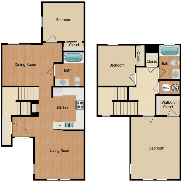Floor plan image of 3A