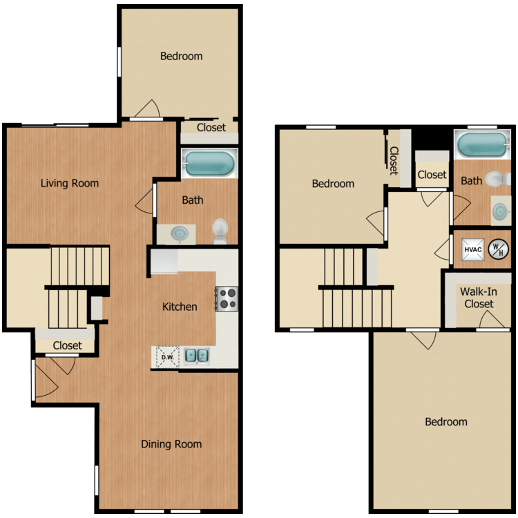 3B floor plan image