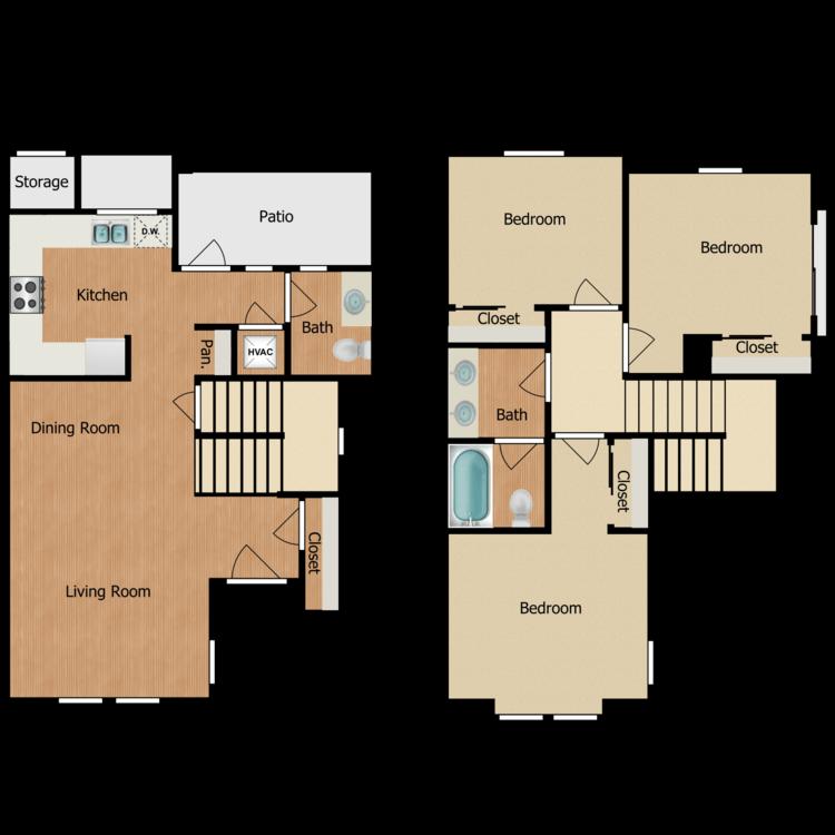 Floor plan image of 3D