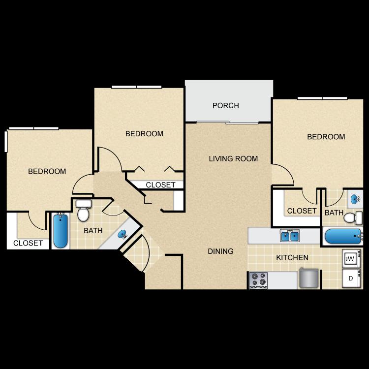 Floor plan image of 3