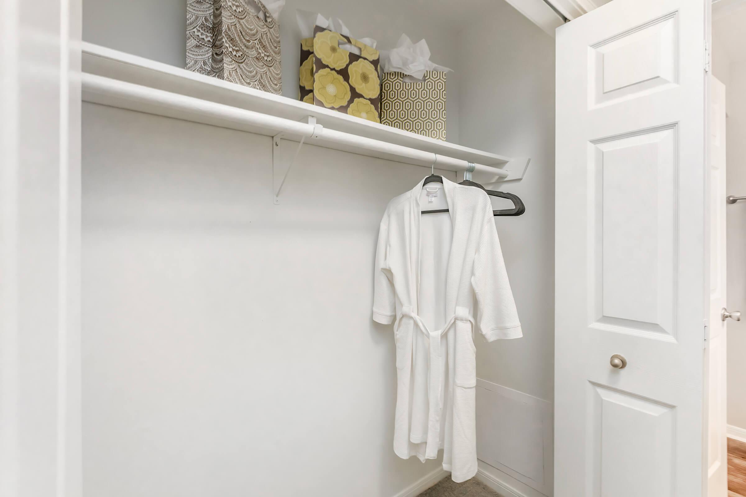 Spacious closets at Graymere in Columbia, Tennessee