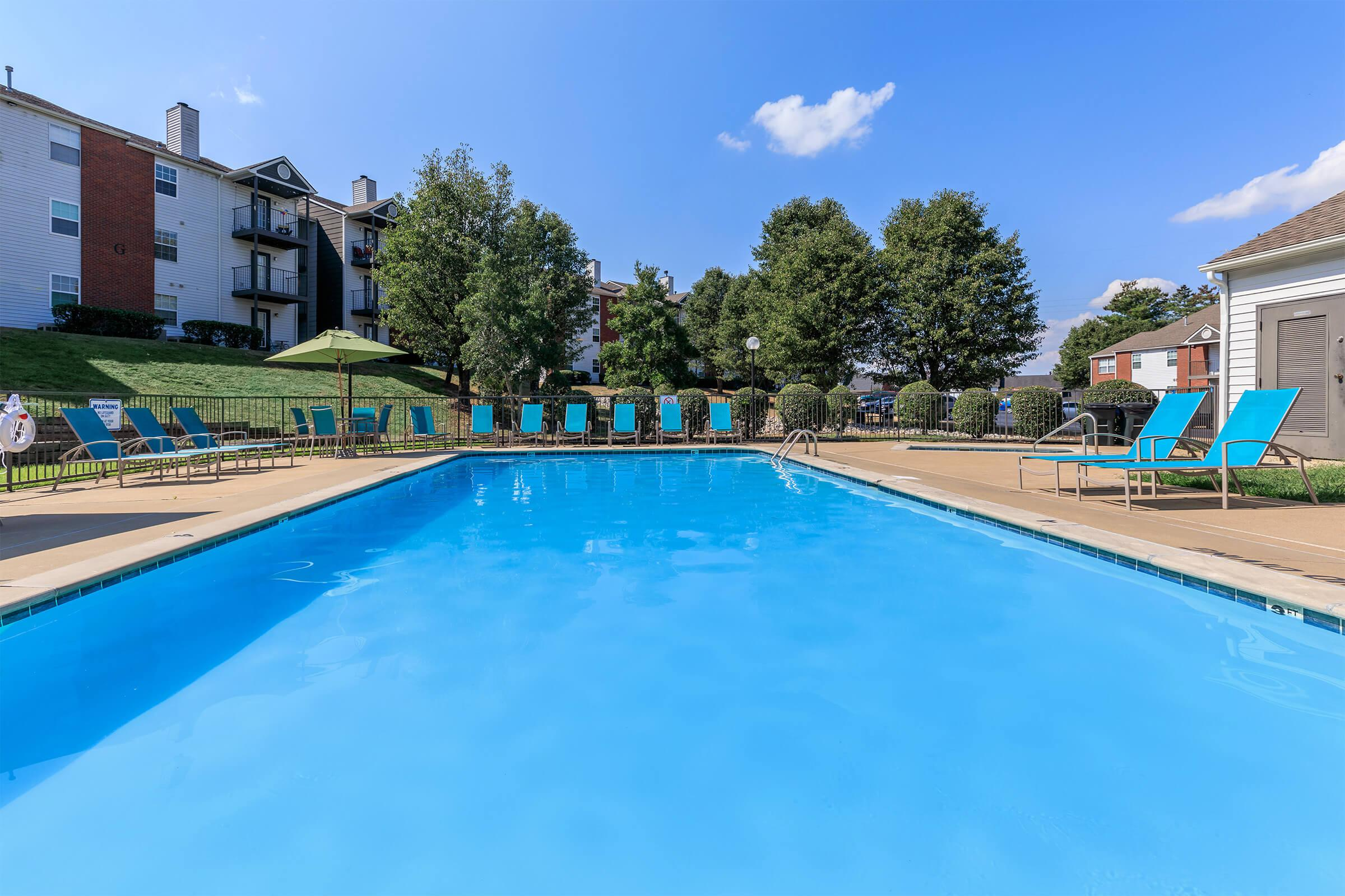 Kick back pool side here at Graymere in Columbia, Tennessee
