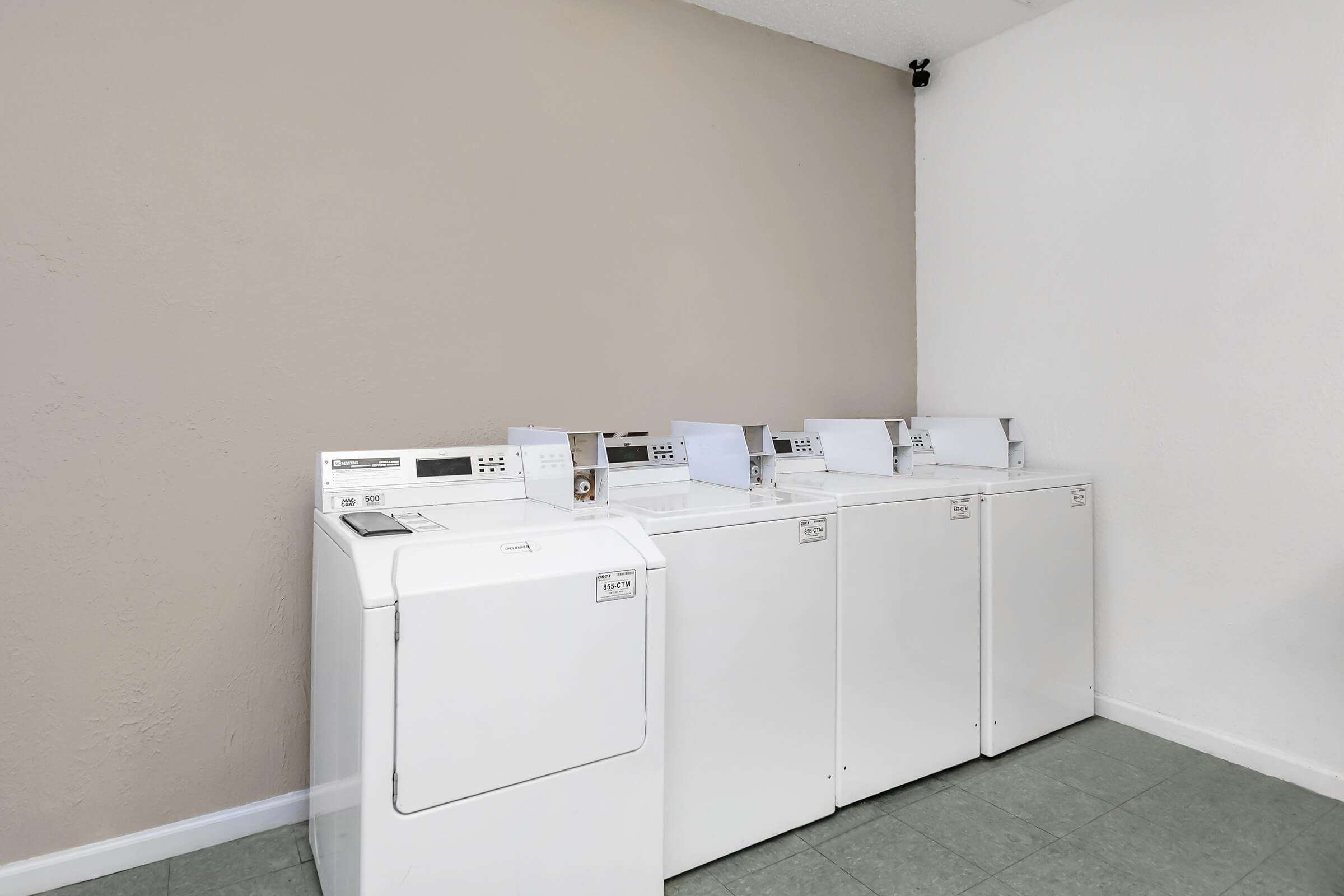 Laundry facility here at Graymere in Columbia, TN