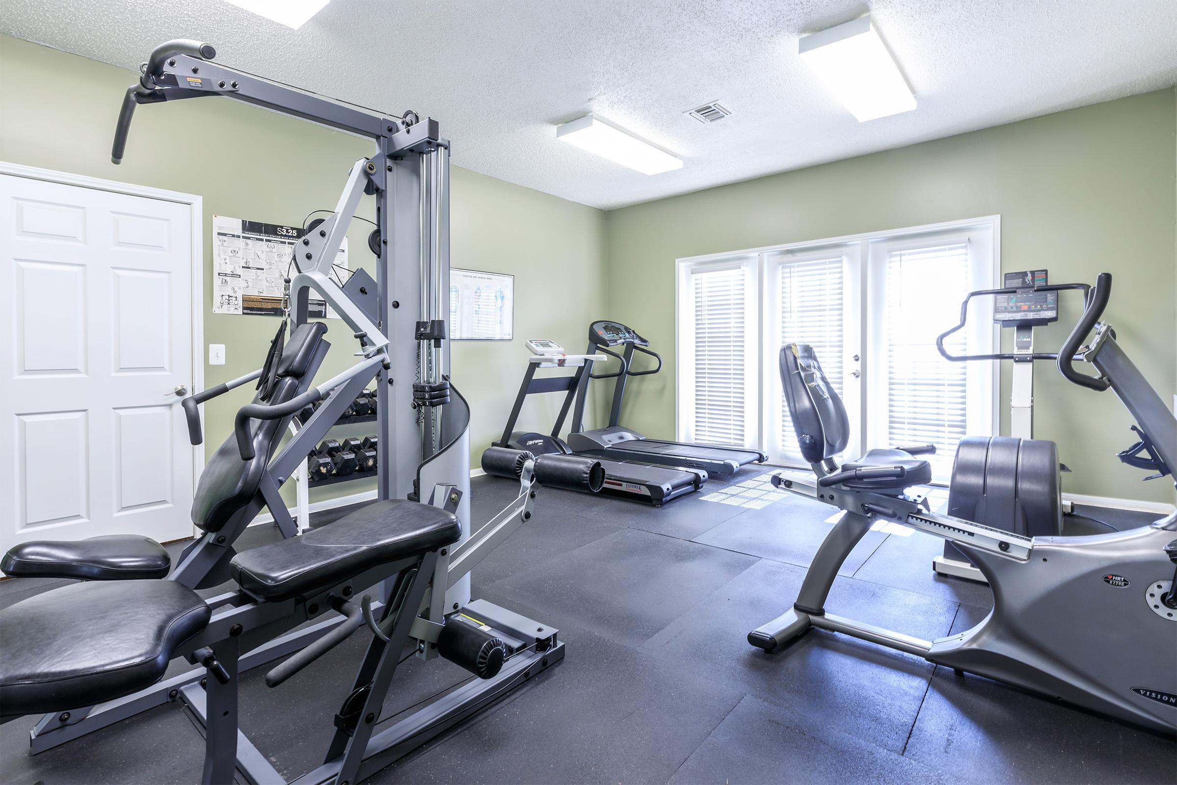 Staying fit is easy here at Graymere in Columbia, Tennessee