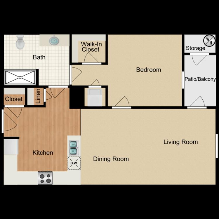 Floor plan image of Allegheny