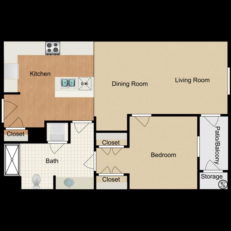 Floor plan image of Birmingham