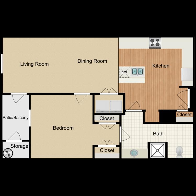 Floor plan image of Birmingham ADA