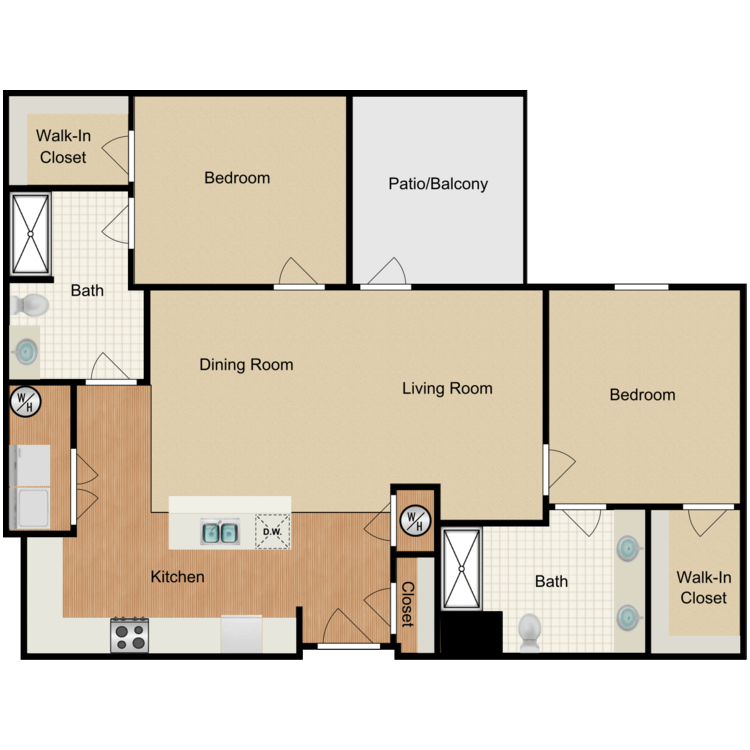 Floor plan image of Forbes