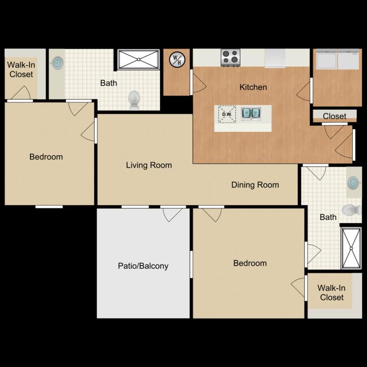 Floor plan image of Forbes ADA