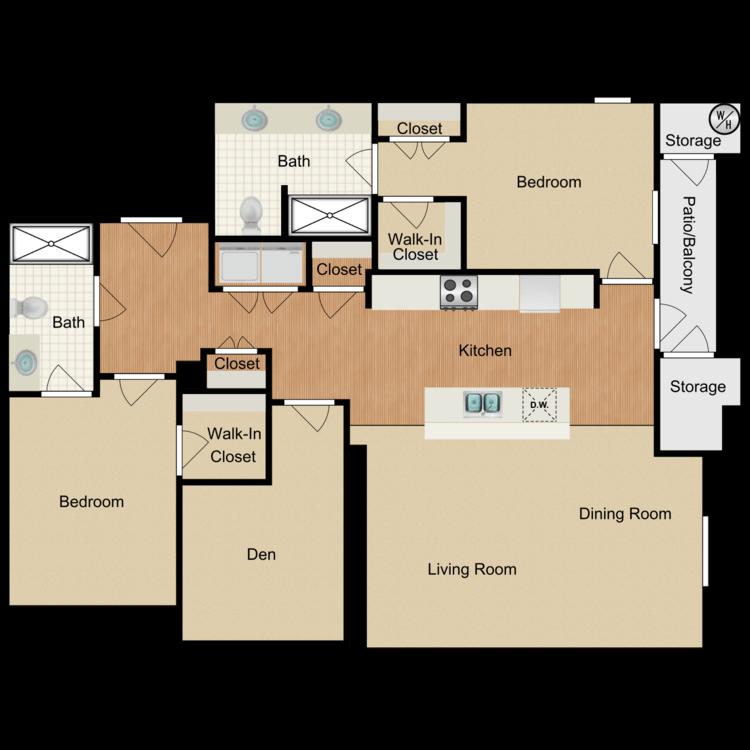Floor plan image of Glenwood