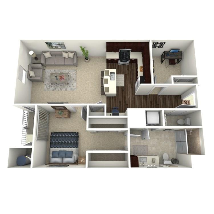 Floor plan image of Carnegie