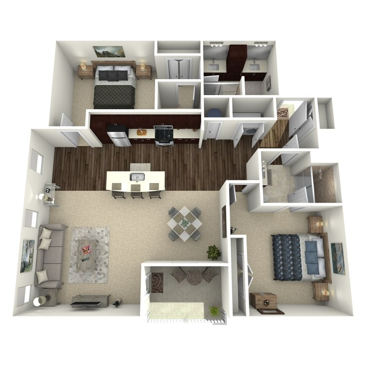 Floor plan image of Ellsworth