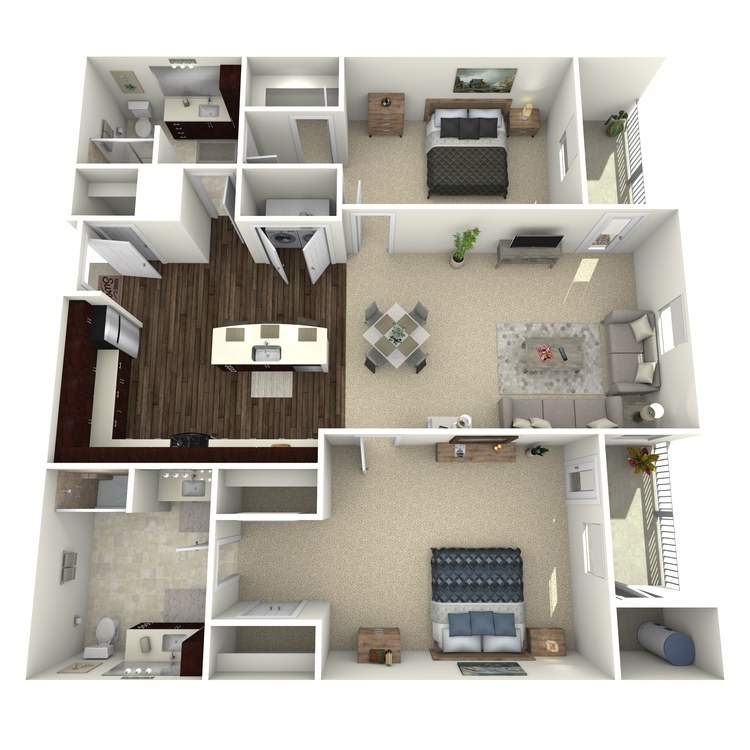 Floor plan image of Duquesne