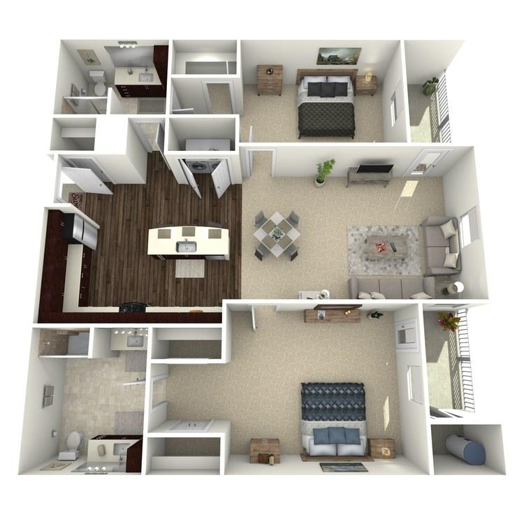 Floor plan image of Duquesng