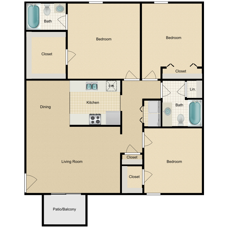 Floor plan image of Clydesdale