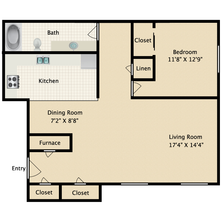 Floor plan image of Royal